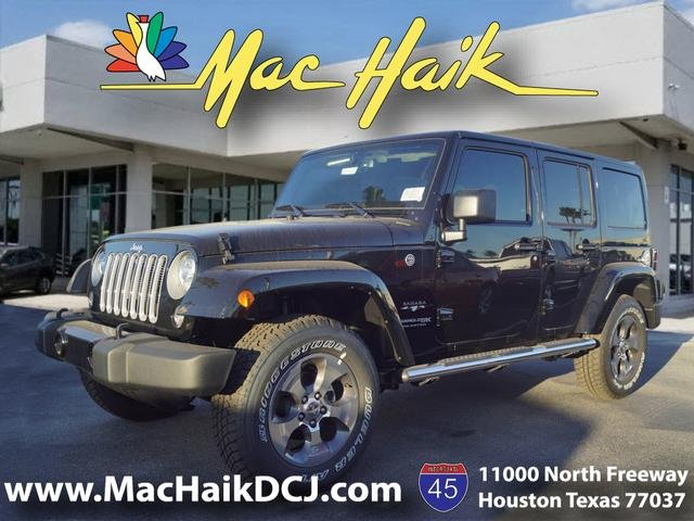 Superb New 2018 JEEP Wrangler Unlimited Sahara
