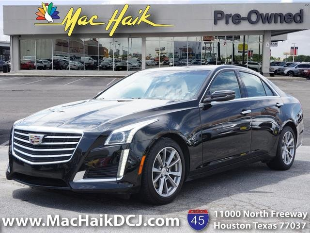 Pre-Owned 2019 Cadillac CTS Luxury RWD